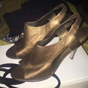 Nine West Bronze Sandal 10M